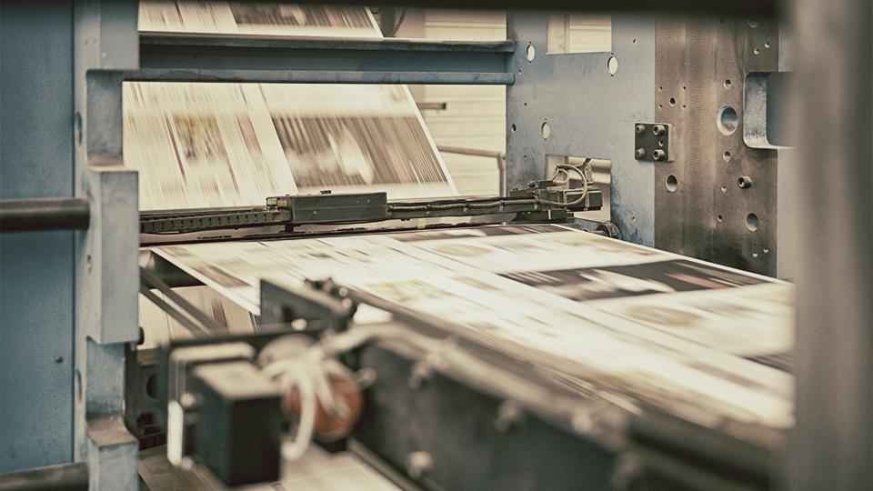Merkur Zeitungsdruck Rotation